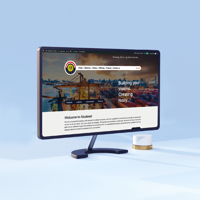 Alsalasel Website