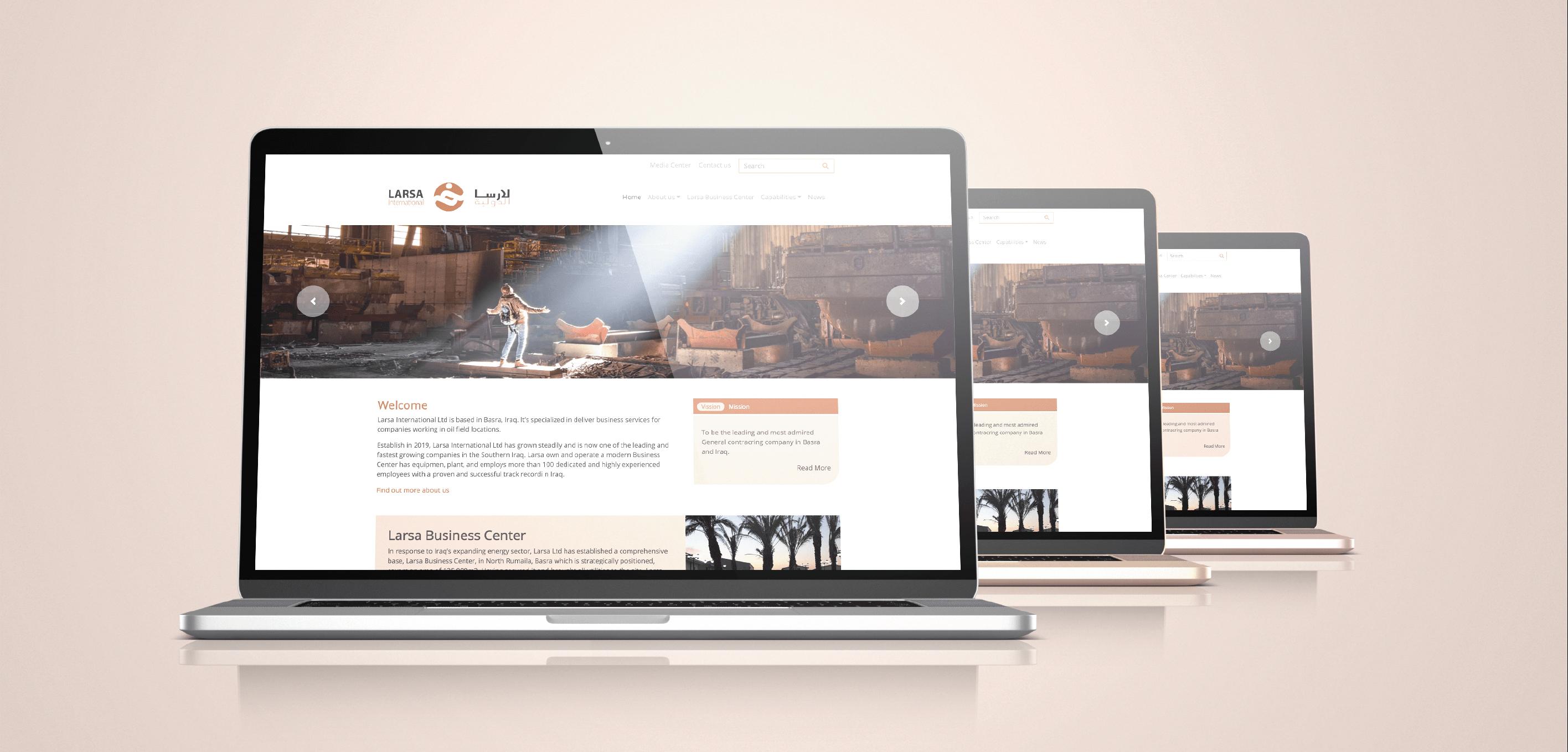 Lasra International Ltd Website