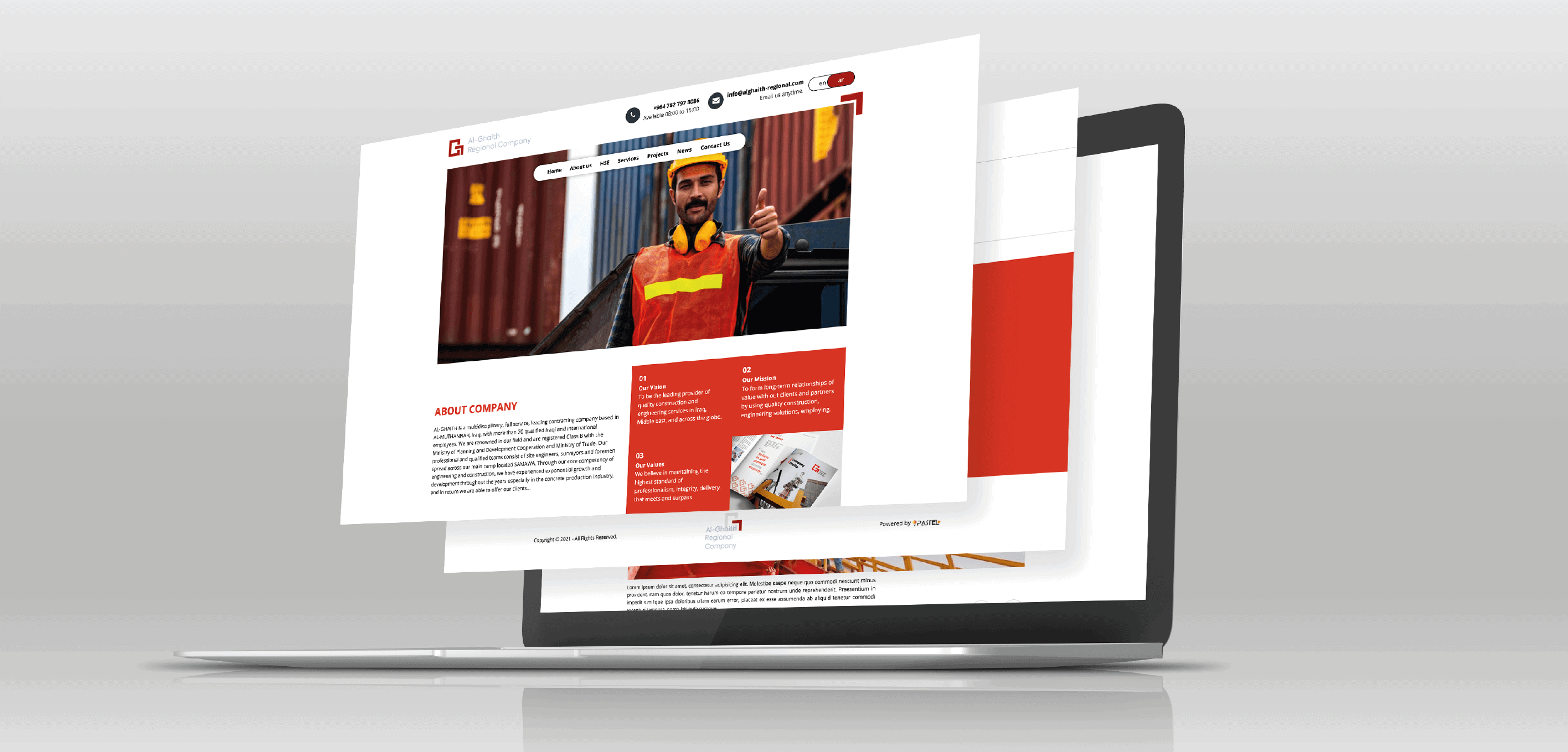 Al-Ghaith Regional Company Website